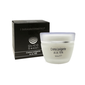 Crema viso levigante acido glicolico 15%